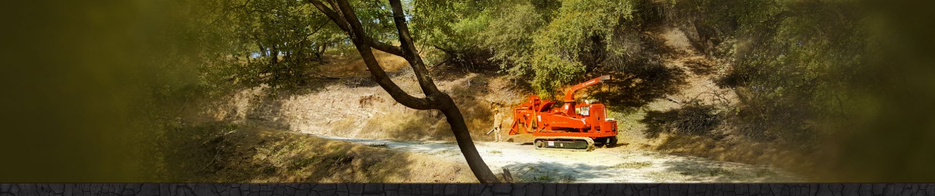 Photo demonstrations roadside clearing work in Amador County.
