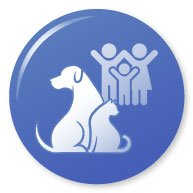 Family and pets icon