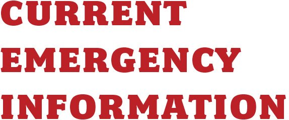 Current Emergency Information
